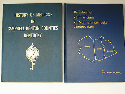 Lot 2 Books Northern Kentucky Boone Kenton Campbell County Doctors History HB