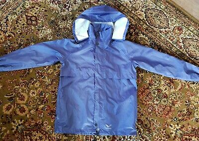 Rainbird kids unisex hooded Raincoat Jacket Size M (10-12) Excellent condition!