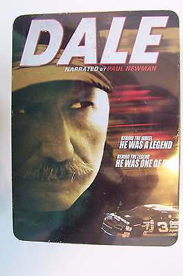 Dale Earnhardt - The Movie (Narrated by Paul Newman) 6 DVD Discs Collectible Tin