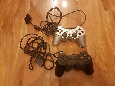 Sony DualShock 2 Analog PS2 Playstation 2 Gamepads silver black faulty spares