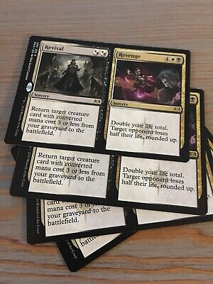 MTG - Ravnica Allegiance - 4x Revival/Revenge  - Rare Cards- New Near Mint