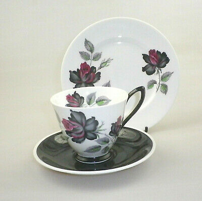 Vintage Royal Albert China Trio Masquerade (Variant)