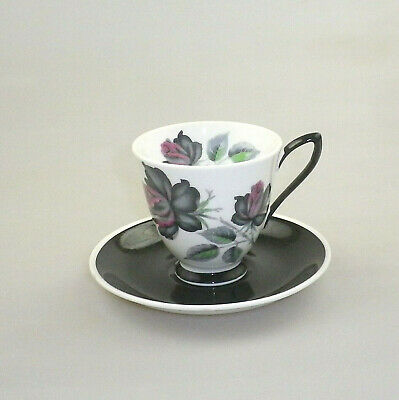 Vintage Royal Albert China Coffee Cup and Saucer Masquerade (Variant)