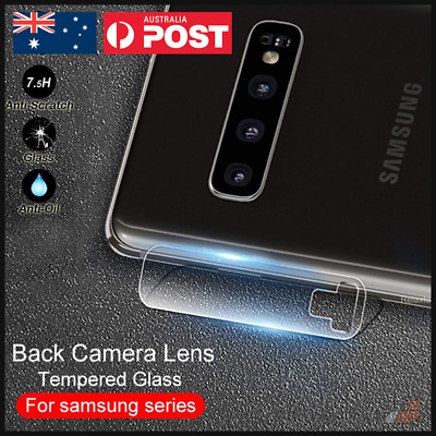 Samsung Galaxy S10 + Plus S10E Back Camera Lens Tempered Glass Protector Clear