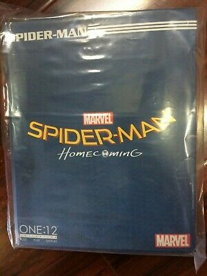 """IN HAND!!!  Mezco Toys One 12 Collective SPIDER-MAN HOMECOMING 6"""" Action Figure"""