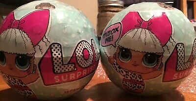 2x LOL Surprise Dolls Big Sister Ball Series 1 Brand New Sealed 100% Authentic!