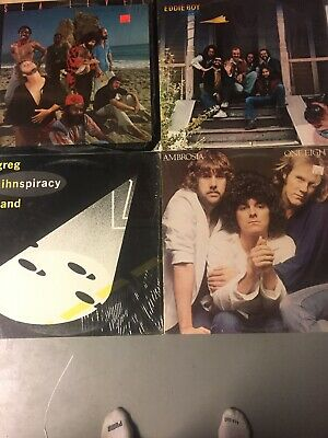 Lot Of 4 Lp Classic Rock Vinyl VG++ Still In Shrink 1980's