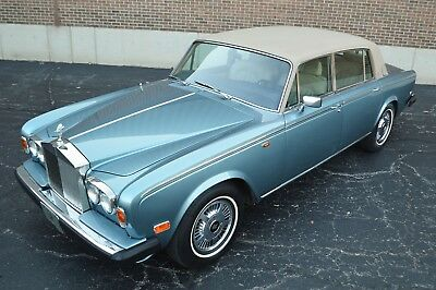 1978 Rolls-Royce Silver Shadow - Wraith II Rarely seen colour in America. Very clean nicely presented Wraith II (LWB)