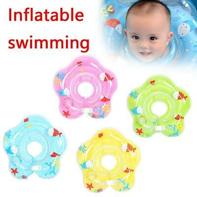 Inflatable Circle Newborn Neck Float Infant Baby Swimming Swim Ring Safety
