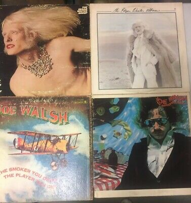 1970's Classic Rock Lp Lot Of 4 Vinyl Vg+ 1st Pressings Gatefold Original