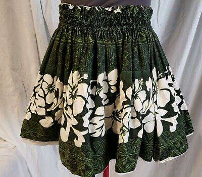 Vintage Folk Skirt Child Swing M Hand Made Reversable