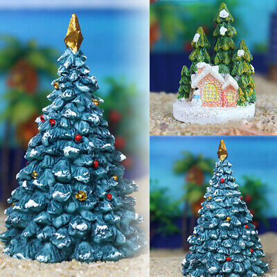 Resin Craft Christmas Aquarium Landscaping Ornament Home Fish Tank Decoration