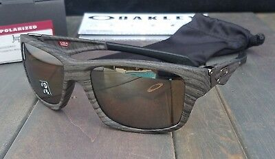 8c33473466 New Oakley JUPITER SQ Sunglasses 9135-07 Woodgrain w Tungsten Iridium  Polarized