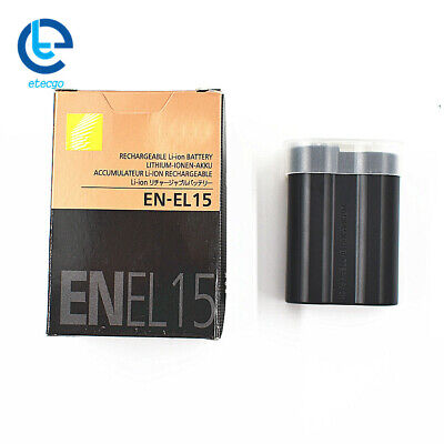 New EN-EL15 Battery for Nikon D7100 D7200 D7000 D600 D610 D800 MH-25 MB-D15