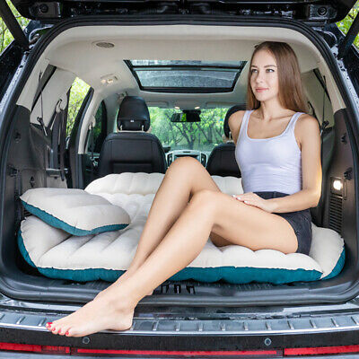 SUV Car Travel Inflatable Mattress Camping Air Bed Cushion Extended Back Seat