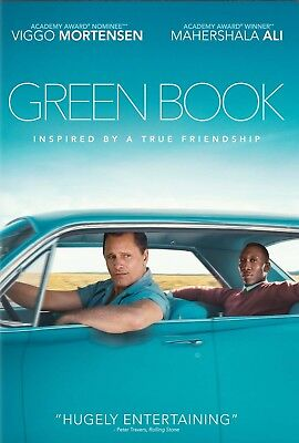 Green Book DVD (2018) New Release 3/12/19-Comedy/Drama