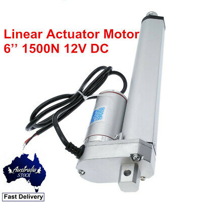 6'' 1500N 12V DC Linear Actuator Electric Motor Max Load 330LBS Auto Door Lift