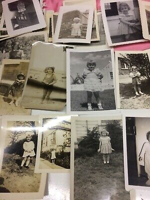 100 + VINTAGE OLD PHOTOS of CHILDREN estate photos from scranton,pa 1920-50's