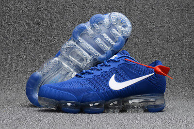 NIKE AIR VaporMax Air Max 2018 Men's Running Trainers Light blue and white