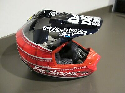 Troy Lee Designs Day in the Dirt Fasthouse SE3 Helmet SM