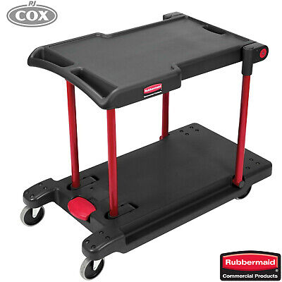 Rubbermaid Convertible Utility Cart Folding Collapsible Platform Utility Truck