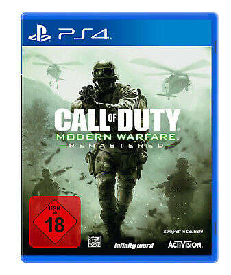 Call of Duty: Modern Warfare - Remastered [PlayStation 4]