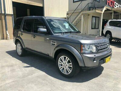 2009 Land Rover Discovery 4 Series 4 TDV6 Silver Automatic A Wagon