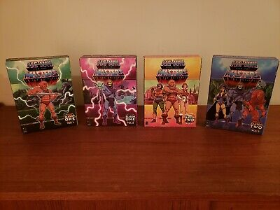 HE-MAN and The Masters of the Universe Season 1 & 2 Complete 4 Box 24 DVD Set VF