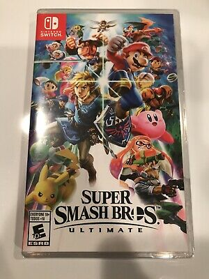 Super Smash Bros. Ultimate (Nintendo Switch) Brand New/Factory Sealed