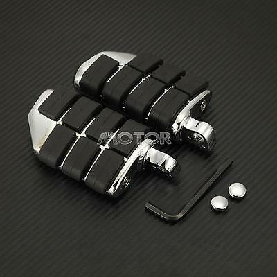 Chrome Motorcycle Foot Rest Pegs Dually Pegs For Male Mount Harley Davidson T