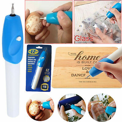 Engraving Etching Hobby Craft Pen Handheld Rotary Tool for Metal Glass Jeweler