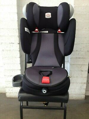 BRITAX SAFE-N-SOUND ENCORE 10 Grey/Black Booster Seat ( Like New )