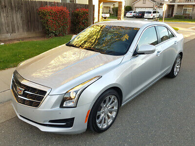 2017 Cadillac ATS 2.0T Luxury Sedan 4-Door 2017 CADILLAC ATS 2.0T LUXURY, ONLY 15K MI, NAVIGATION, BACKUP CAM, HEATED SEATS
