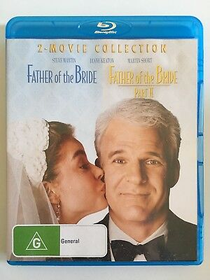 Father Of The Bride 1 & 2 Bluray OOP Comedy Martin Keaton Short Blu-ray Movie