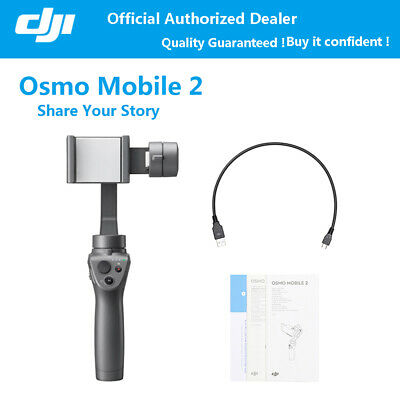 DJI Osmo Mobile 2 3-Axis Camera Handheld Stabilizer Tripod For iPhone Android
