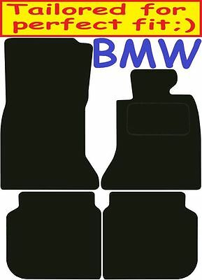 Tailored Deluxe Quality Car Mats Bmw 7Series F02 LWB 2009-2015 ** Black **