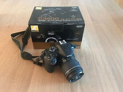 Nikon D3400 With 18-55mm Kit Lens And SanDisk Memory Card - Boxed And Unused