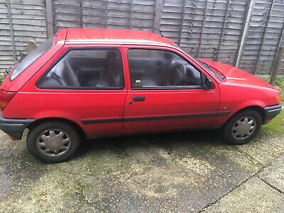 Ford Fiesta 1992 Red