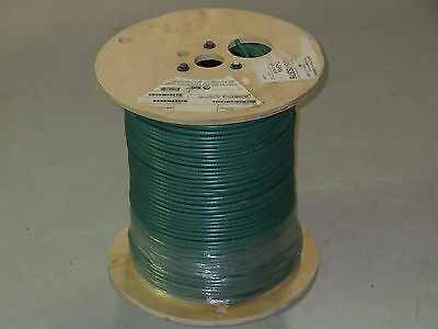 Liberty Wire & Cable Interflex-SD-GRN RG59 LWC GREEN New 1000' Reel 20 AWG