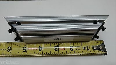 "80/20 Inc. T-Slot Aluminum Extrusion 10 Series Pn#2566  6"" Length X 2"" Width New"