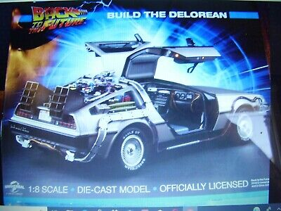 Eaglemoss Build The Delorean Issue # 59 Back To The Future Pw Weekly