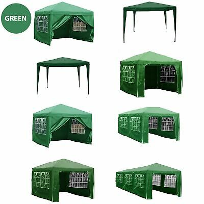 Gazebo Marquee Party Tent Waterproof Garden Patio PopUp or Standard Canopy Green