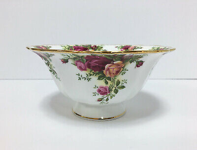 Royal Albert Old County Roses Boxed Footed Serving Bowl