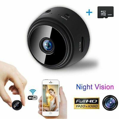 Mini Spy Camera Wireless Wifi IP Home Security Hidden HD 1080P DVR Night Vision