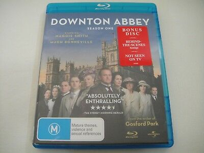 Downton Abbey: First Season One 1 - 3-Disc Set Blu-Ray/DVD Region B/4 | Like-New