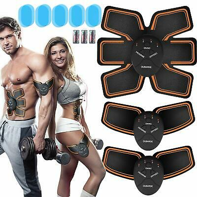 Abs Trainer for Men Women, EMS Abdominal Muscle Stimulator, Abs Stimulator