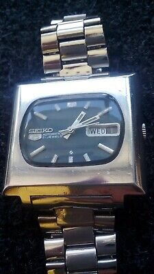 Vintage Seiko Tv Day/date Automatic Mod. 6119 5400 Watch