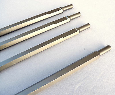 Heli Guy Ramset 342 Point Chisel Set Of 4 Brand New