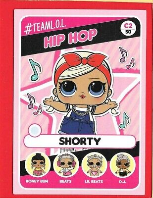LOL SURPRISE let's be friends - Panini 2019 - Trading-CARD n. 2 -New