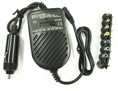 Universal 80W DC Auto Car Power Charger Adapter For Laptop Notebook Computer